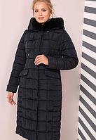 Пальто женское Лара больших размеров (0310/44)