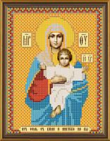 """Схема для вышивки """"Богородица Леушинскя"""""""