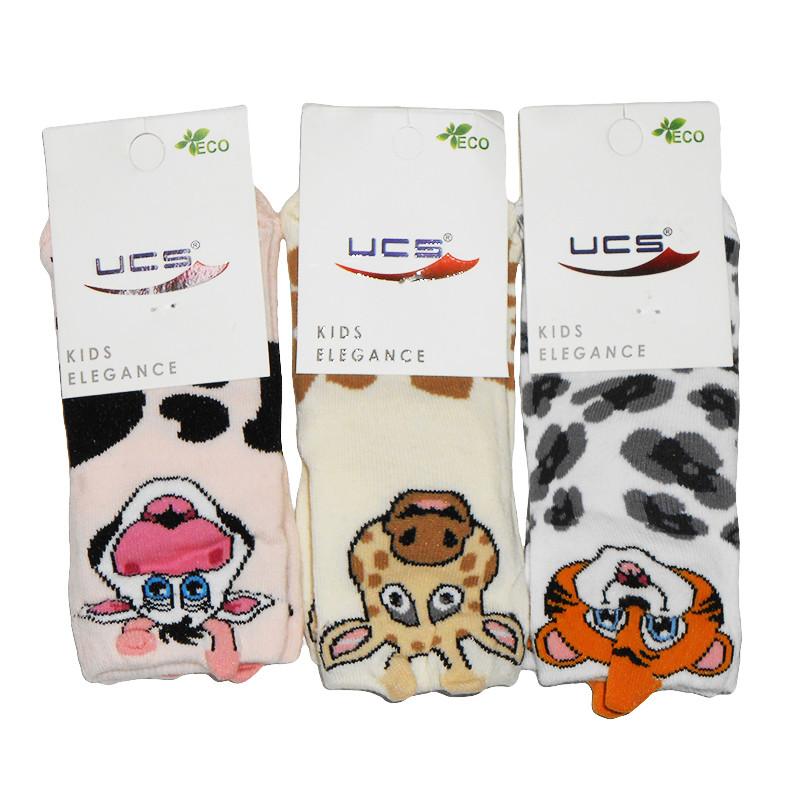 """Носочки  №1 """"UCS"""" С0439 рисунок 3D"""