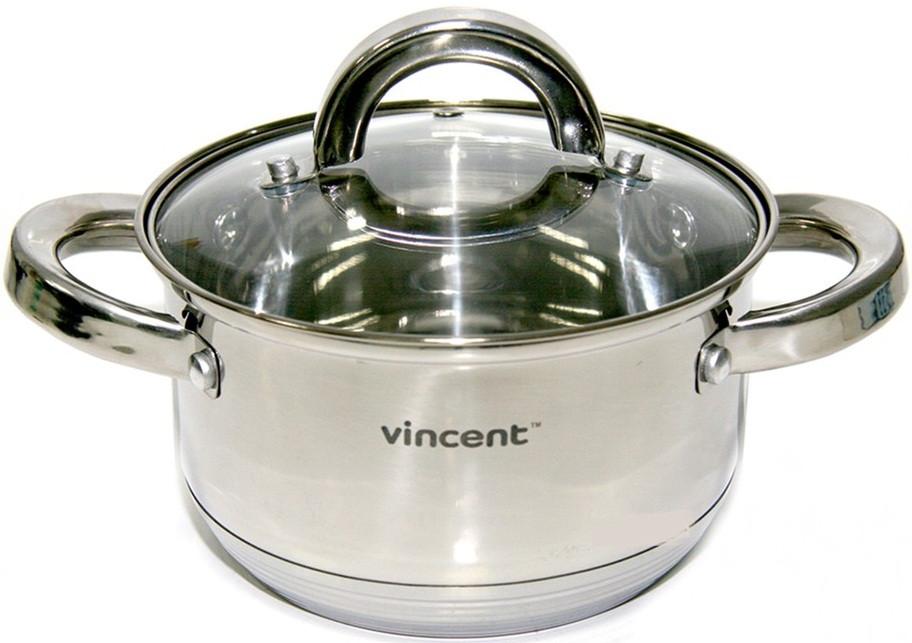 Каструля 24 см Vincent 6,1 л 3167-24v
