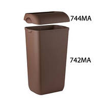Корзина для мусора пластмассовая 23л COLORED, фото 1