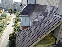 Крыша козырёк над балконом.