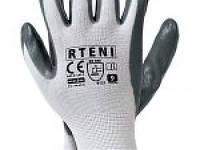 Перчатка нитрил RTENI WS Cеро-белый