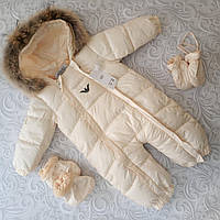 Детский зимний комбинезон Armani