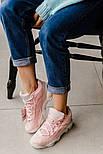 Женские кроссовки Fila Spaghetti Pink. Живое фото (Реплика ААА+), фото 3