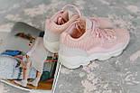 Женские кроссовки Fila Spaghetti Pink. Живое фото (Реплика ААА+), фото 6