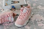 Женские кроссовки Fila Spaghetti Pink. Живое фото (Реплика ААА+), фото 5