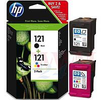 Комплект струйных картриджей HP для DJ D2563/F4283 №121/121 Black/Color (CN637HE)