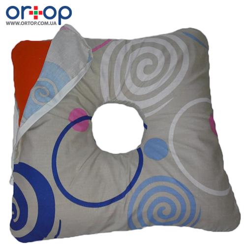 Наволочка на квадратную подушку при геморрое Лежебока