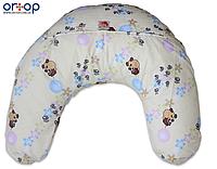 Подушка для кормления Лежебока шарики, фото 1