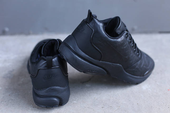 Мужские зимние кроссовки Nike черные, фото 2