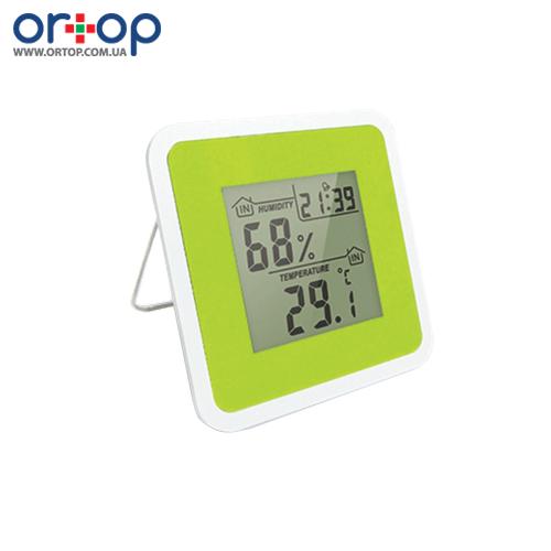 Цифровой термометр-гигрометр с часами Т-07
