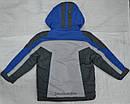Куртка зимняя Snowboarding серо-голубая (QuadriFoglio, Польша), фото 4