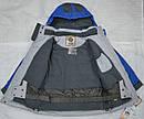 Куртка зимняя Snowboarding серо-голубая (QuadriFoglio, Польша), фото 6