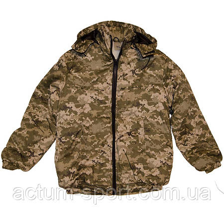 Мужская зимняя куртка с капюшоном Пилот Pixel