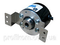 Энкодер  магнитный серии ARS, 50 мм корп., 25  имп., пит. 5…24, вых. 5…24, A,B,Z сигнал , 8 мм полый вал , кабель 3 м, радиальное