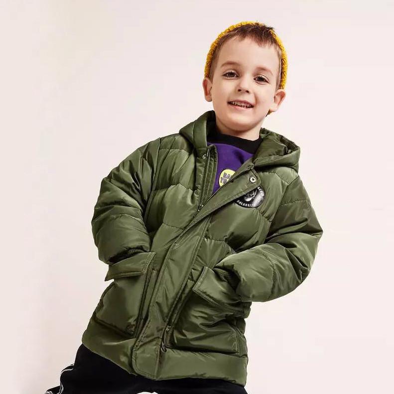 Курточка на пуху Оливка