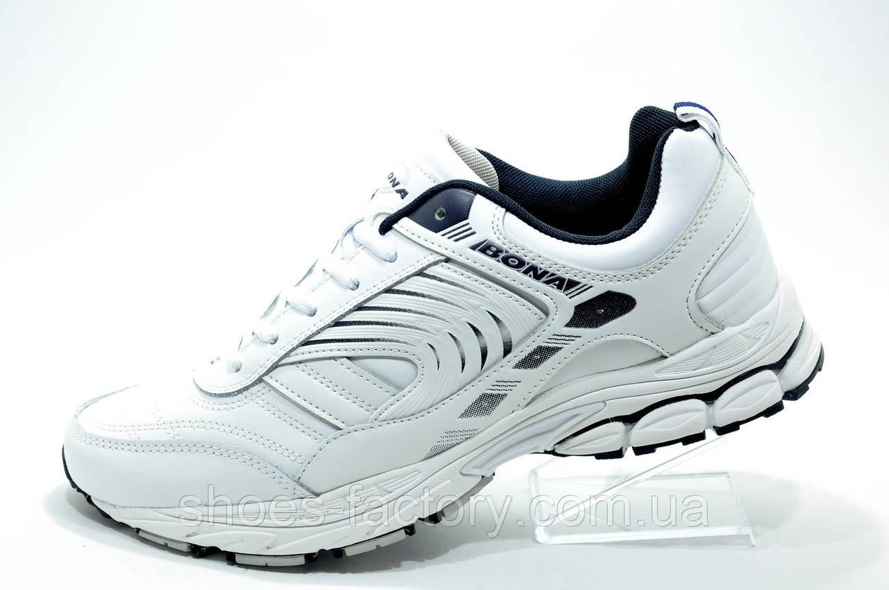 6c22c1a7 Мужские белые кроссовки Bona, Кожаные - Интернет магазин спортивной обуви  Shoes-Factory в Киеве