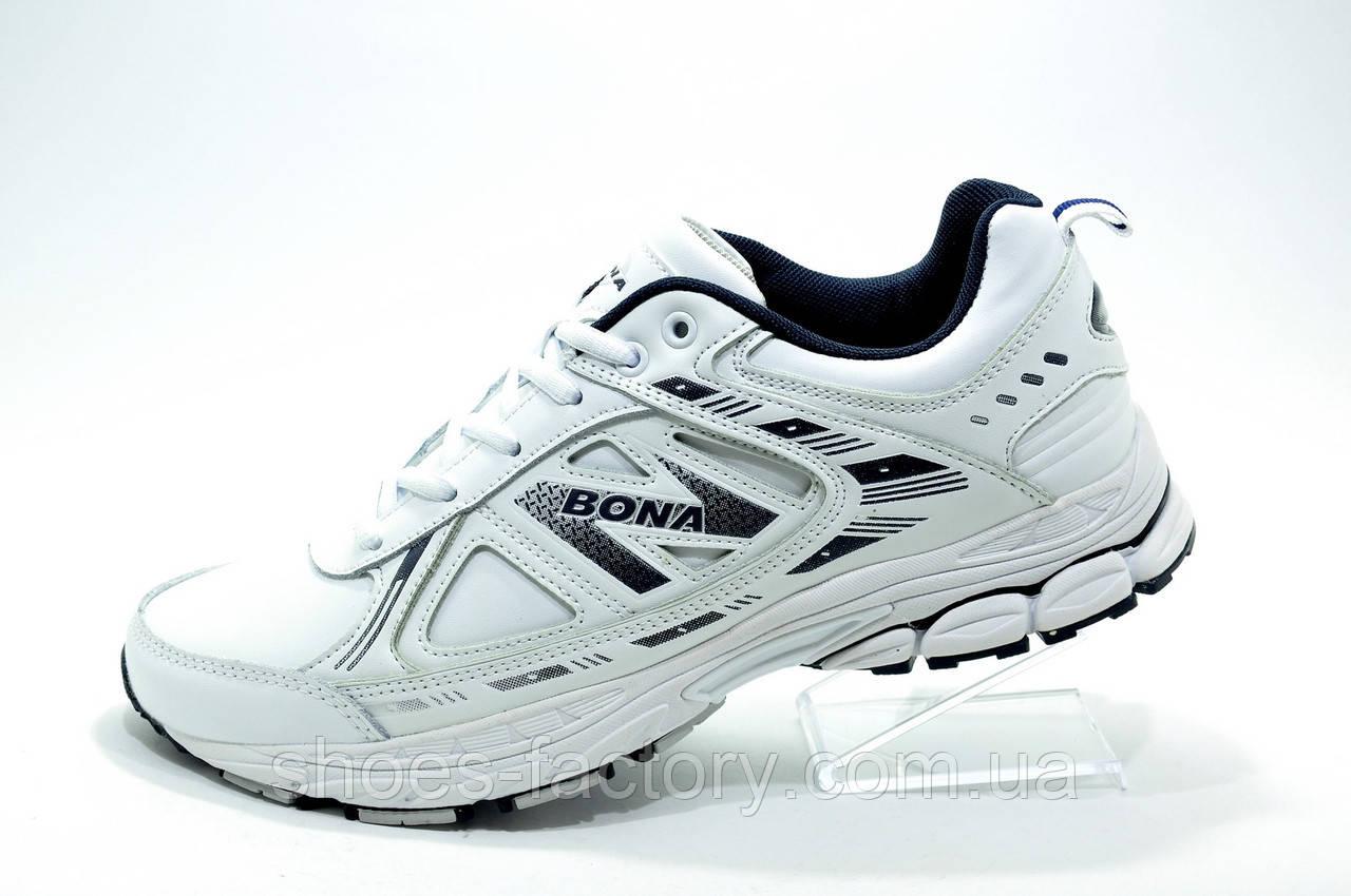ba893cad Белые мужские кроссовки Бона, (Bona) - Интернет магазин спортивной обуви  Shoes-Factory