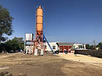 Стационарный бетонный узел АБСУ-25 (скип/конвейер)