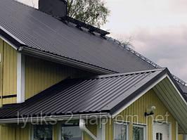Крыша из профнастила или металлочерепицы: сложности выбора