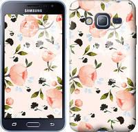 """Чехол на Samsung Galaxy J3 Duos (2016) J320H Розы акварелью """"3667c-265-15168"""""""