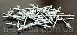 Слепые заклепки алюминиевые 4,0 мм. х 10 мм. 1000 шт.