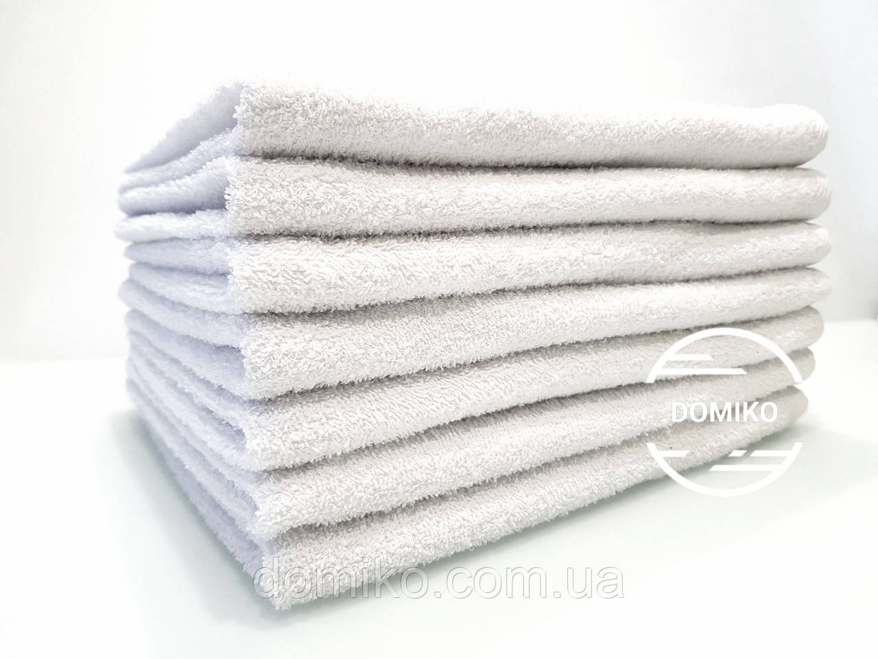 Полотенце кухонное махровое 40*70 белое Узбекистан