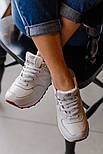 Жіночі кросівки New Balance 574 White Gum. Живе фото (Репліка ААА+), фото 3
