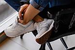 Жіночі кросівки New Balance 574 White Gum. Живе фото (Репліка ААА+), фото 2
