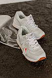 Жіночі кросівки New Balance 574 White Gum. Живе фото (Репліка ААА+), фото 5