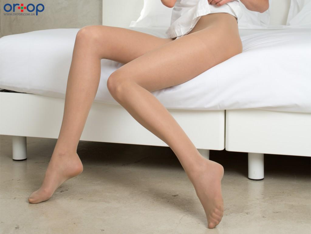 Профилактические колготки Relaxsan (компрессия 12-17 мм.рт.ст., плотность 70 den), бежевый, 2, Закрытый носок, Стандартный