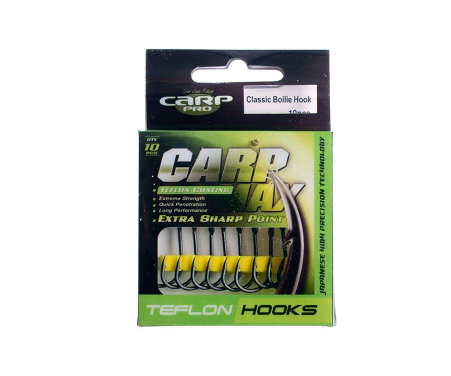 Крючок Carp Pro Teflon Classic hook №6 10шт