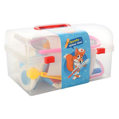 Детский игровой набор Доктор (в чемодане)