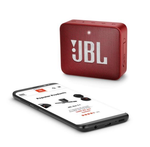 Портативная акустика JBL Wireless Speaker GO 2