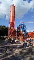Стационарный бетонный узел АБСУ-30 (скип)