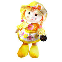 Кукла мягкая (желтая) E2114