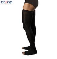 Чулки мужские с открытым носком 2 класс компрессии 230 Den (рост 180-195см), S