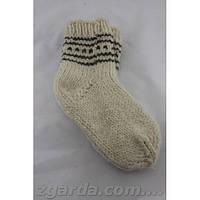 Носки из овечьей шерсти ручной работы
