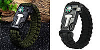 Браслет Paracord Flint-Fire + compass