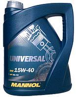 Масло моторное минеральное Mannol (Маннол) Universal 15w40 5л