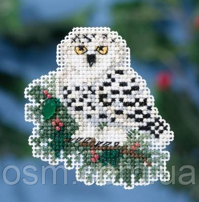 Набор для вышивки Snowy Owlet  Mill Hill