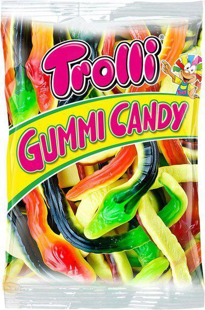 Жевательные конфеты Trolli Gummi Candy Ризен