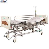 Кровать с регулировкой высоты и электроприводом (4 секции).