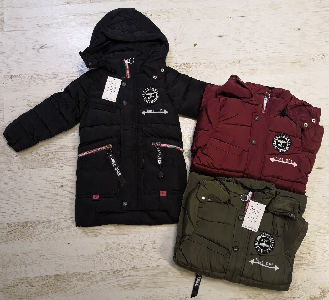 d3603ae52c71 Куртка для мальчиков оптом, Glo-story, 110-140 рр., арт.BMA-7590 ...