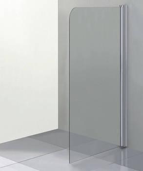 Стеклянная шторка для ванны 75х140 см, фото 2
