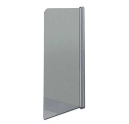Стеклянная шторка для ванны 75х140 см