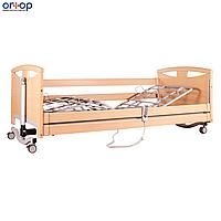 Кровать деревянная с усиленным ложем и электромотором., фото 1
