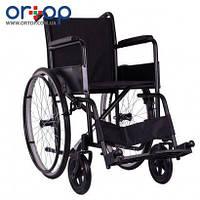 Стандартная инвалидная коляска ECONOMY-1 с литыми задними колесами, 46 см, фото 1