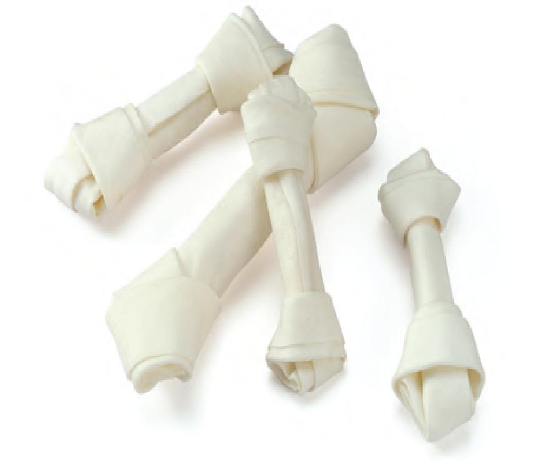 Кость узловая белая Denta 13см' 5' (40-55гр)